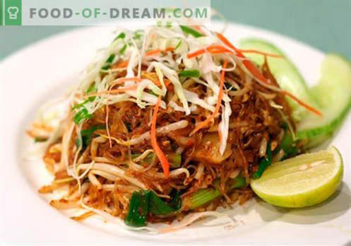 Chinesische Salate - eine Auswahl der besten Rezepte. Wie man richtig und lecker chinesische Salate kocht.