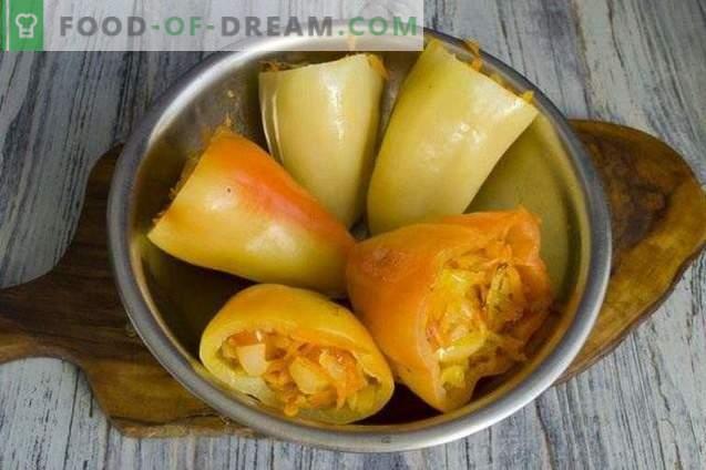 Polnjene paprike v paradižnikovi omaki za zimo