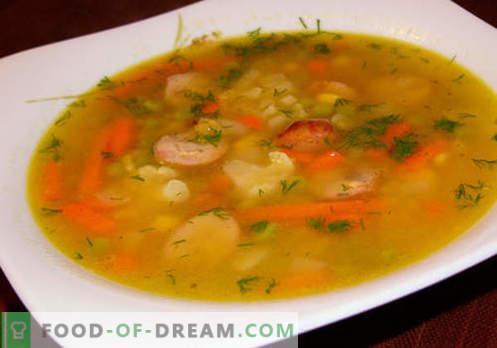 Eintopfsuppen - Bewährte Rezepte. Wie man richtig und lecker Suppe aus dem Eintopf kocht.