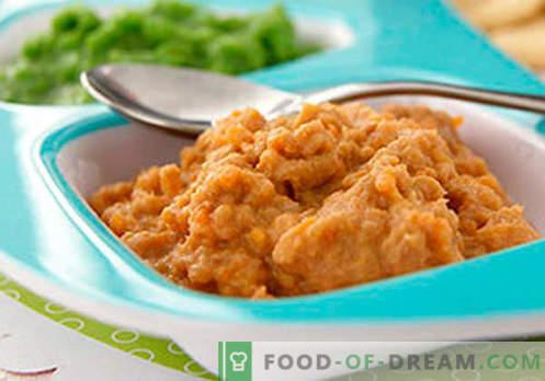Fleischpüree - die besten Rezepte. Wie man Fleischpüree richtig und lecker kocht.