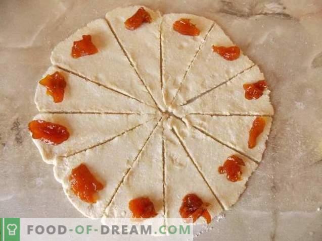 Hüttenkäse-Bagels mit Marmelade