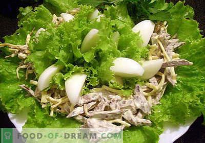 Schweinefleisch-Herz-Salat - die besten Rezepte. Wie man richtig und lecker einen Salat aus Schweineherz kocht.