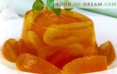 Aprikosengelee - die Helligkeit von Farben und Aromen. Eine Auswahl verschiedener Rezepte zur Herstellung von Aprikosengelee