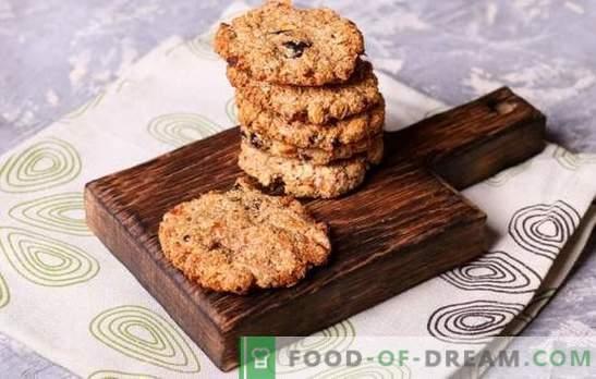 Hausgemachte Keksrezepte - schnell und lecker! Schokolade, Vanille, Nuss, Honig und andere schnelle Arten von Keksen