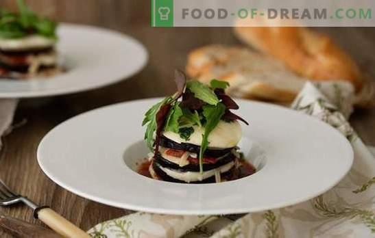 Auberginen Parmedzhano - Italienisch Hallo! Gemüse- und Fleischrezepte berühmter Parmedzhano-Auberginen