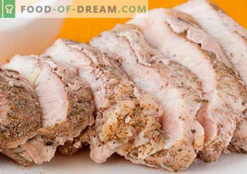 Hausgemachtes Schweinefleisch - die besten Rezepte. Wie richtig und lecker gekochtes Schweinefleisch zu Hause.
