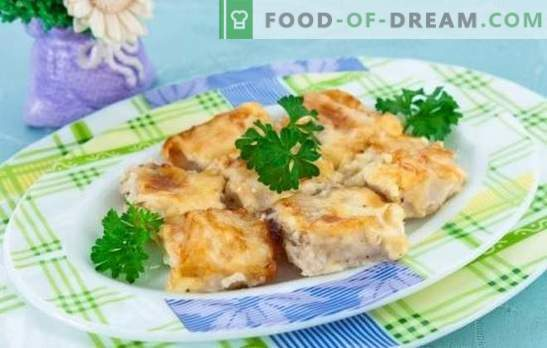 Fisch in einem Omelett ist eine wunderbare Kombination! Rezepte für verschiedene Fische in einem Omelett im Ofen, in der Pfanne und im Multikocher