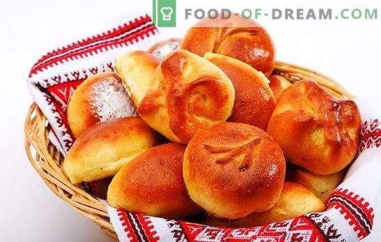Kuchen aus Hefeteig auf Milch sind ein Symbol für häuslichen Komfort. Wie man Hefeteig mit Milch und Milch für Torten kocht