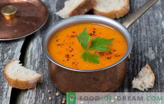 Einfache leckere Suppen aus roten und grünen Linsen - die Traditionen der russischen Küche. Frische Ideen für einfache Suppen aus verschiedenen Linsen
