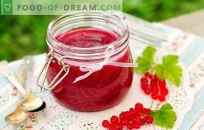 Johannisbeermarmelade für den Winter - für Geschmack und Gesundheit! Rezepte verschiedener Marmeladen von roten und schwarzen Johannisbeeren für den Winter
