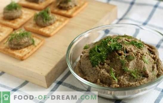 Pilzkaviar aus gekochten Pilzen: Technologie für die Hauskonservierung. Leckerer und vielseitiger hausgemachter gekochter Kaviar