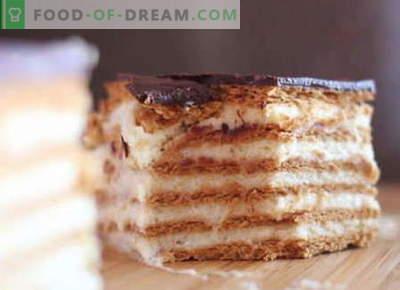 Plätzchenkuchen sind die besten Rezepte. Wie man richtig und lecker einen Kuchen aus Keksen macht.