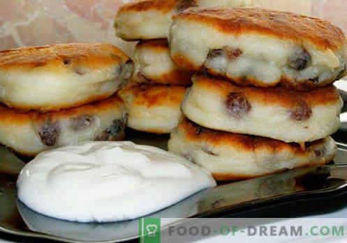 Rosinen-Käsekuchen - die besten Rezepte. Wie schnell und lecker Käsekuchen mit Rosinen zubereiten.