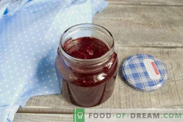 Himbeergelee - köstliche Zubereitung für den Winter der Beeren