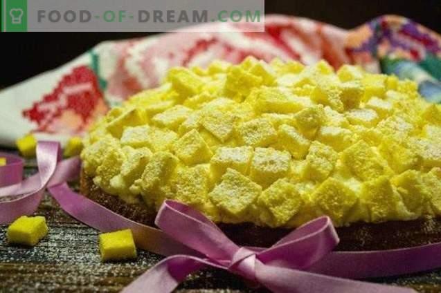 italienischer mimosenkuchen