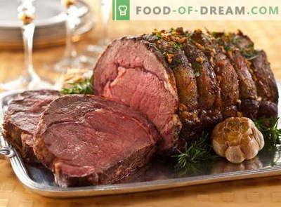 Fleisch im Ärmel - die besten Rezepte. Richtig kochen und leckeres Fleisch im Ärmel.