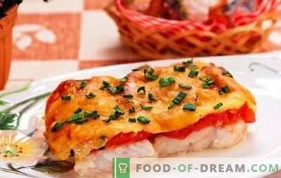 Fisch mit Käse überbacken - ein Gericht für Feiertage und Wochentage! Eine Auswahl an Rezepten für verschiedene mit Käse gebackene Fische