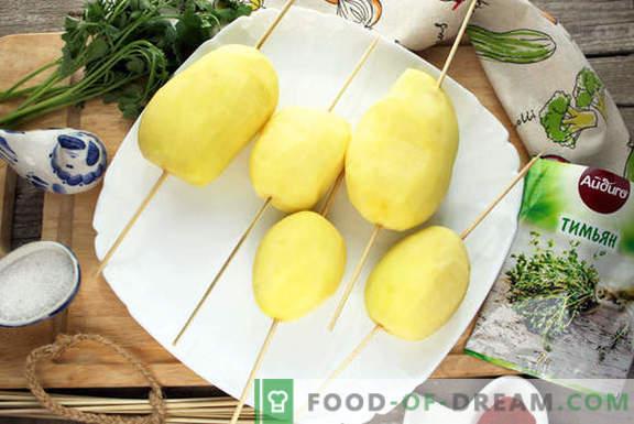 Gebackene Kartoffelhelix - Überraschen Sie Gäste und Angehörige