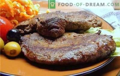 Koteletts aus der Leber - ein neuer Blick auf die Herstellung von Nebenprodukten. Die besten Rezepte für Leberkoteletts: Schweinefleisch, Hähnchen, Rindfleisch