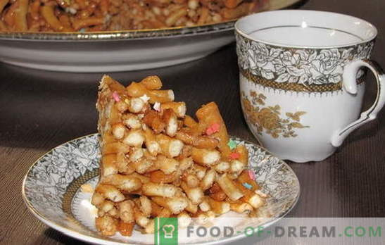 Dieser Chak-Chak ist ein Rezept für zu Hause. Alle Tricks und Geheimnisse des Kochens von Honig zu Hause chak-chak