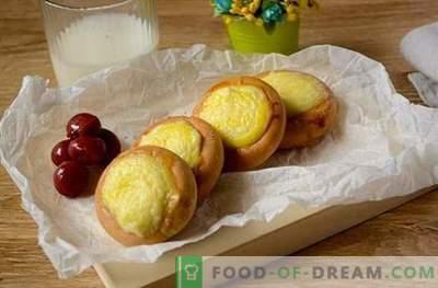 Käsekuchen vom Trocknen: ein Foto-Rezept für ein einzigartig einfaches Dessert. Käsekuchen vom Trocknen kochen: In kurzer Zeit leckeres Essen kochen