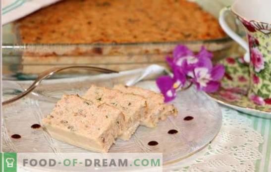 Diät-Soufflé, wie es ist - vom Huhn, vom Rind, vom Hüttenkäse. Welches Produkt eignet sich besser für Diät-Soufflé