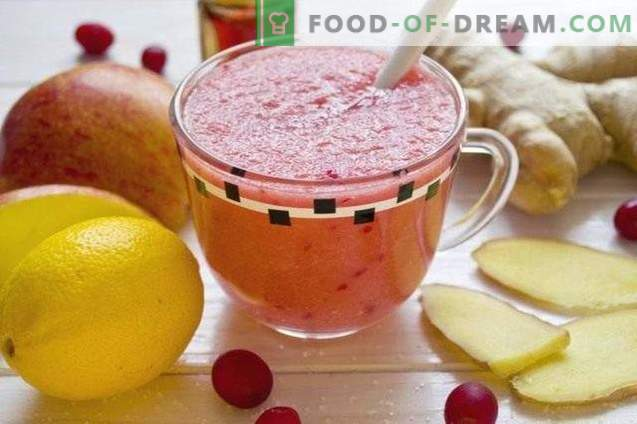 Frucht-Cranberry-Smoothie - Vitamin-Cocktail