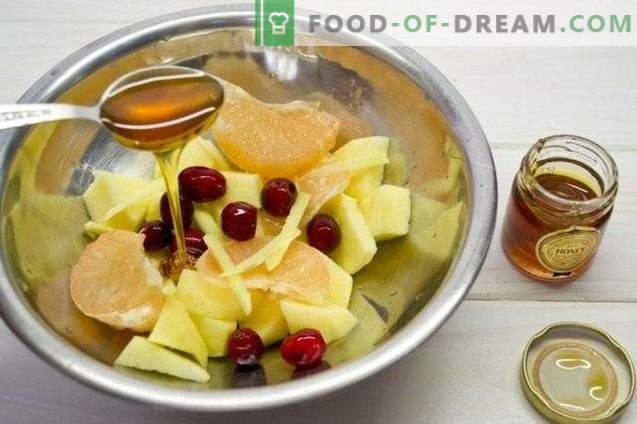 Fruit Cranberry Smoothie - Vitamine Cocktail