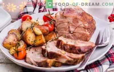 Braten, schnell Schweinefleisch backen und lecker - Express-Menürezepte. Schnelle Rezepte für leckere Schweinefleischgerichte