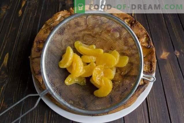 Obstkuchen mit Schokoladencreme