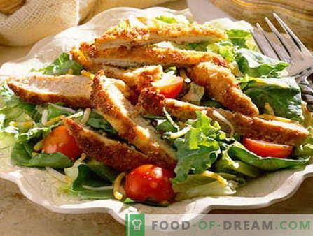 Männlicher Salat - die besten Rezepte. Wie man richtig und schmackhaft gekochten Männersalat kocht.
