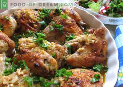 Georgian Chicken - die besten Rezepte. Wie man georgisches Huhn richtig und köstlich kocht