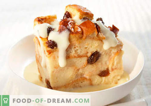 Vanillepudding - die besten Rezepte. Wie man richtig und lecker Vanillepudding kocht.