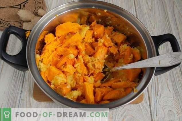 Süße indische Kürbis-Zitrus-Chutneysauce