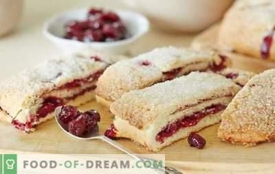 Die besten Winterkuchen mit gefrorenen Beeren, Marmeladen und Obstkonserven