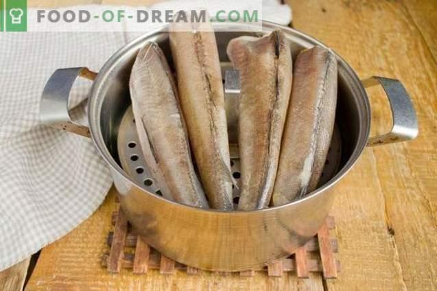 Gemüse-Seehecht - Fisch für ein kalorienarmes, aber leckeres Menü