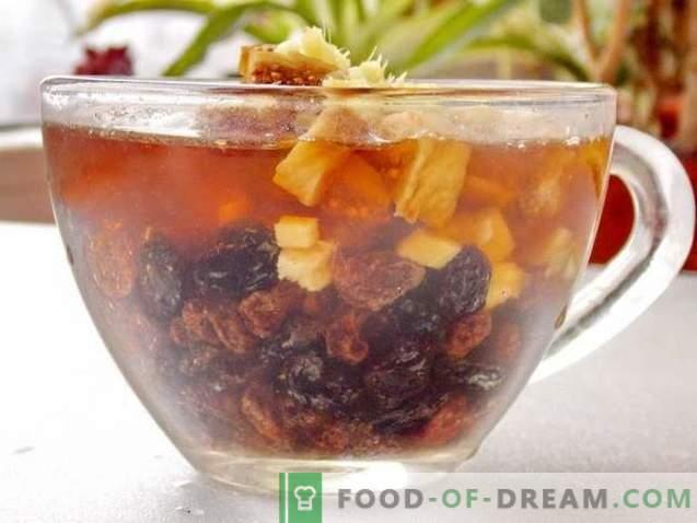 Ingwerkuchen mit getrockneten Früchten