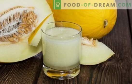 Melonendrinks für den Winter sind lecker und ungewöhnlich, eine Vielzahl von Optionen. Melonenkompott für den Winter einkaufen - ein Muss!