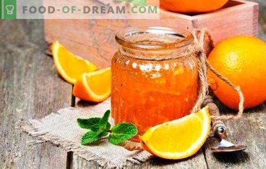 Duftende Orangenmarmelade: Wie macht man eine Orangen-Delikatesse? Orangenmarmelade Rezepte mit Zitronen, Ingwer, Zimt