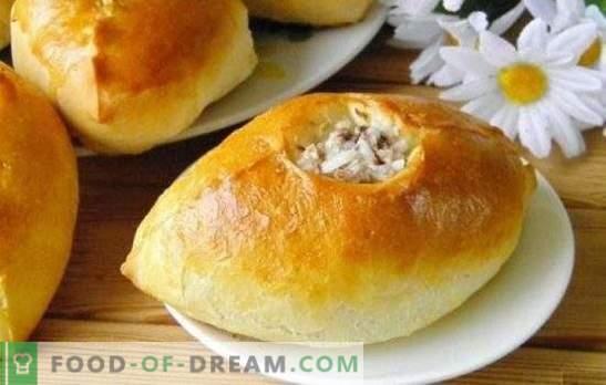 Pasteten mit Hackfleisch und Reis - nahrhaft, lecker und gutbürgerlich! Gebackenes, Gebratenes und Blätterteiggebäck mit Hackfleisch und Reis