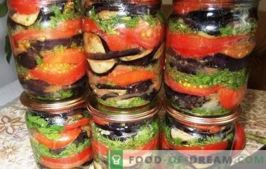 Модар патлиџан со домати за зима - задржи вкус и корист од летото! Рецепти за одлични закуски од модри патлиџани и домати за зима