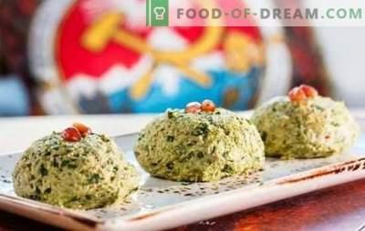 Georgische Vorspeisen - eine Welt voller wunderbarer Aromen! Rezepte von traditionellen georgischen Snacks aus Spinat, Kohl, Auberginen