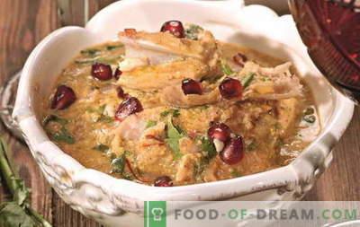 Chicken Satsivi - die besten Rezepte. Wie man Satsivi vom Huhn richtig und lecker kocht.