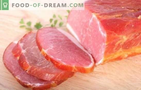Schweinefleischbalyk zu Hause ist ein Naturprodukt! Technologie des Kochens von Schweinefleisch zu Hause
