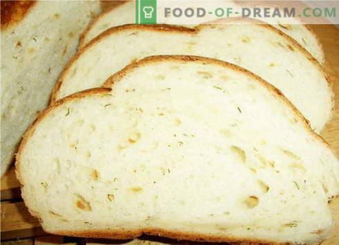 Kruh v pečici - najboljši recepti. Kako pravilno in okusno kuhati kruh v pečici.