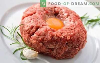Was Sie zum Abendessen schnell aus Hackfleisch kochen sollten: Hauptgerichte, Gebäck. Ausführliche Beschreibung: Schnell zubereitetes Abendessen mit Hackfleisch