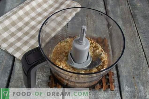 Appetitliches Brathähnchen in Nusssauce