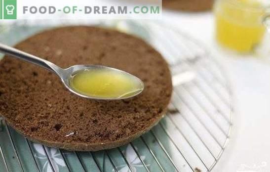 So tränken Sie einen Biskuitkuchen: Rezepte, Ideen, Tipps. Biskuitimprägnierung: Biskuitdessert saftig, lecker und duftend