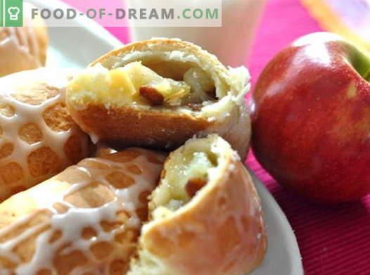 Apple-Pasteten sind die besten Rezepte. Wie man richtig und lecker die Kuchen mit Äpfeln zubereitet.