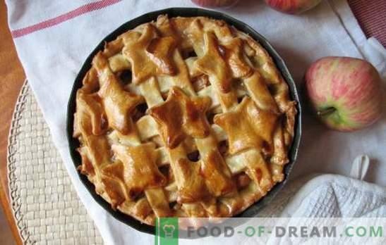 Apfel-Marmeladenkuchen - eine gefühlvolle Tee-Party. Überraschen Sie Verwandte und Freunde mit Rezepten für Apfelmarmelade